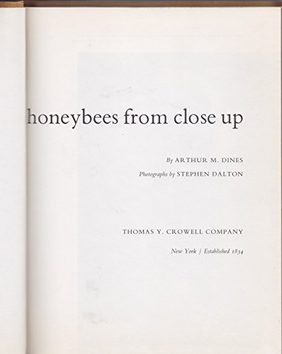 9780690400762: Honeybees from Close Up,