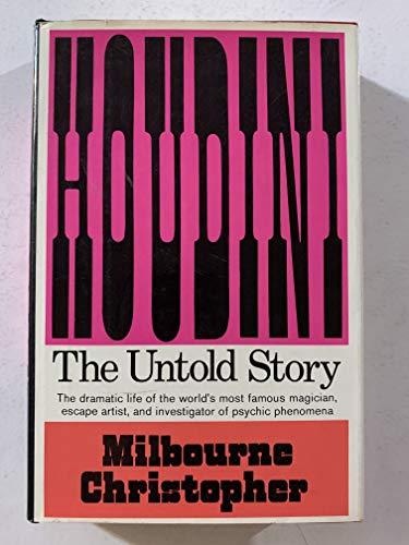 9780690404319: Houdini: The Untold Story