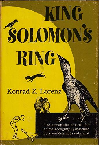 9780690474602: King Solomon's Ring