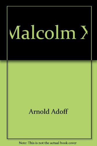 9780690514155: Malcolm X (Crowell biographies)