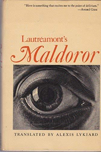 9780690514254: Lautréamont's Maldoror