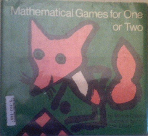 9780690523256: Mathematical Games for One or Two.