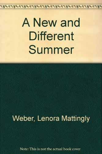 9780690580402: A New and Different Summer