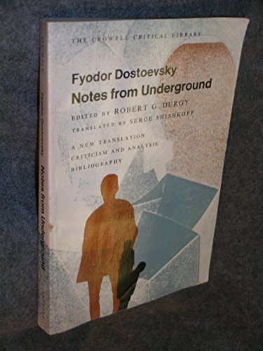 9780690588217: Notes from underground, (The Crowell critical library)
