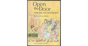 9780690600452: Open the Door and See All the People.