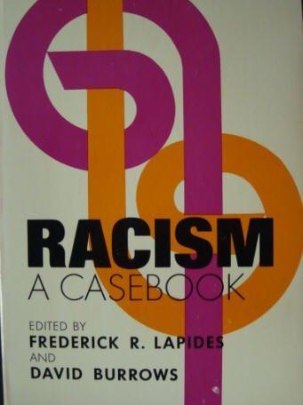 9780690666663: Racism: A casebook