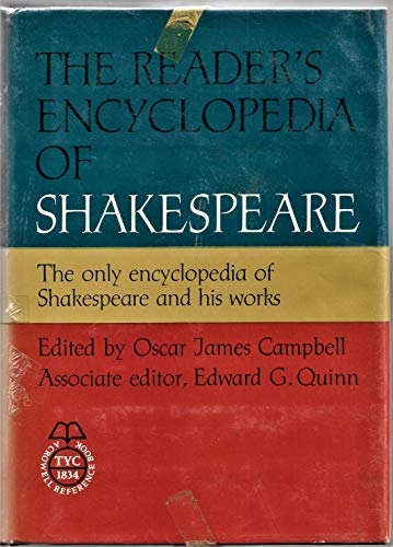 9780690674125: The Reader's Encyclopedia of Shakespeare