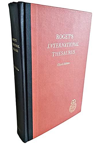 9780690708905: Roget's international thesaurus.