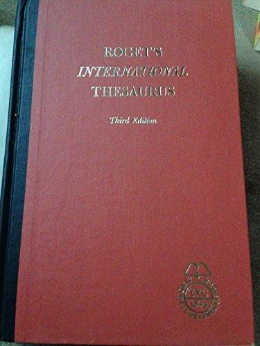 9780690708912: Roget's International Thesaurus (Thumb-Indexed)
