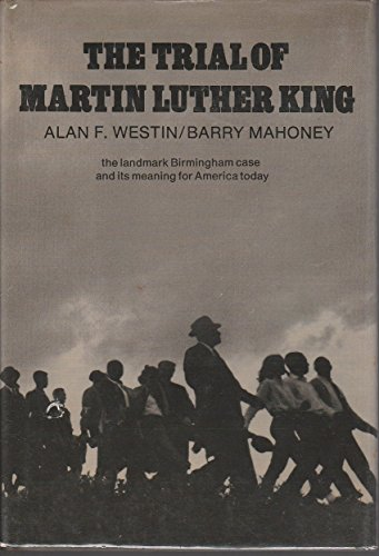 9780690835656: The trial of Martin Luther King