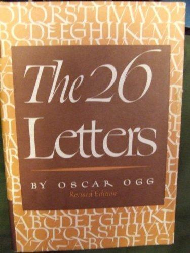 The 26 Letters: Oscar Ogg