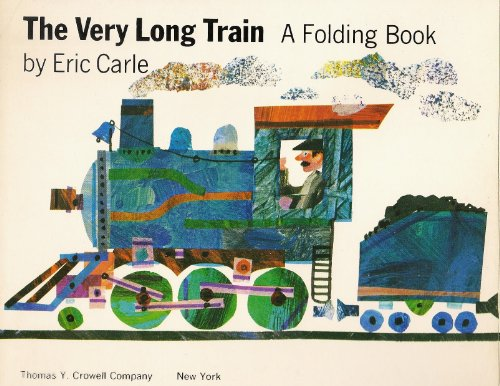 9780690860078: Very Long Train: A Folding Book