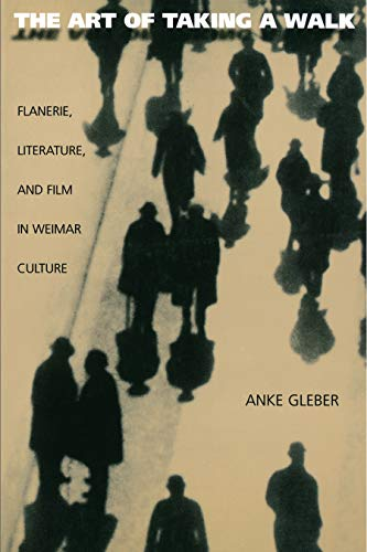 9780691002385: The Art of Taking a Walk: Flanerie, Literature, and Film in Weimar Culture