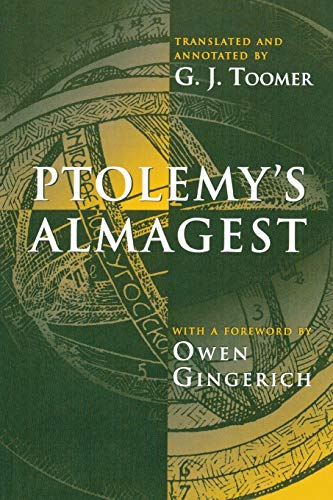 Ptolemy's Almagest: Ptolemy (translated &