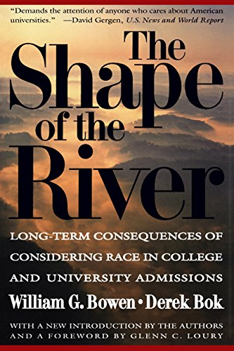 The Shape of the River: William G. Bowen and Derek Bok