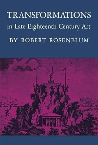 9780691003023: Transformations in Late Eighteenth-Century Art
