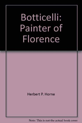 9780691003238: Botticelli: Painter of Florence