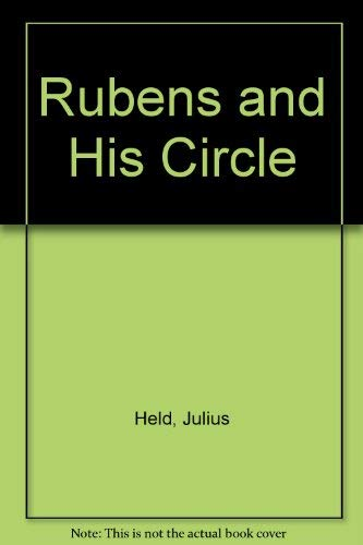 9780691003320: Rubens and His Circle: Studies By Julius S. Held