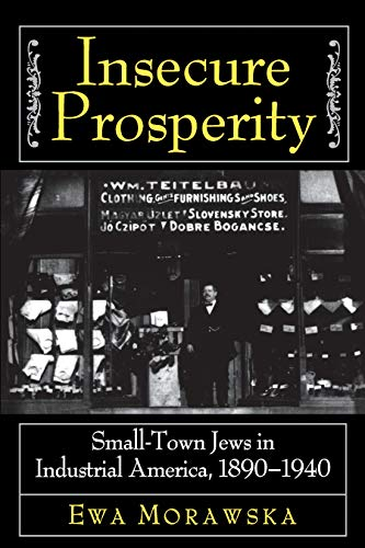 9780691005379: Insecure Prosperity: Small-Town Jews in Industrial America, 1890-1940
