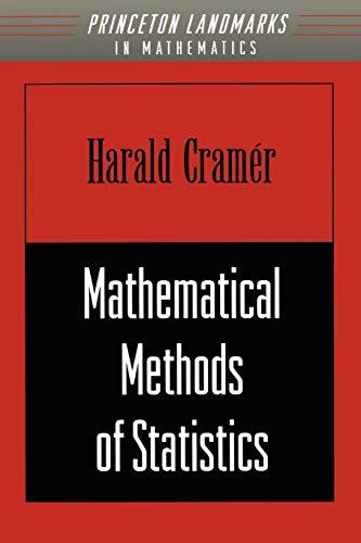 9780691005478: Mathematical Methods of Statistics