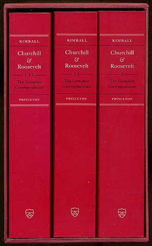 9780691008172: Churchill & Roosevelt - the Complete Correspondence (3vs) Paper: The Complete Correspondence