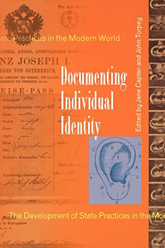 9780691009124: Documenting Individual Identity: The Development of State Practices in the Modern World.