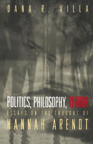 9780691009353: Politics, Philosophy, Terror: Essays on the Thought of Hannah Arendt