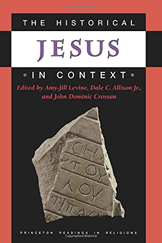 9780691009926: The Historical Jesus in Context (Princeton Readings in Religions)