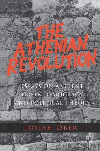 9780691010953: The Athenian Revolution