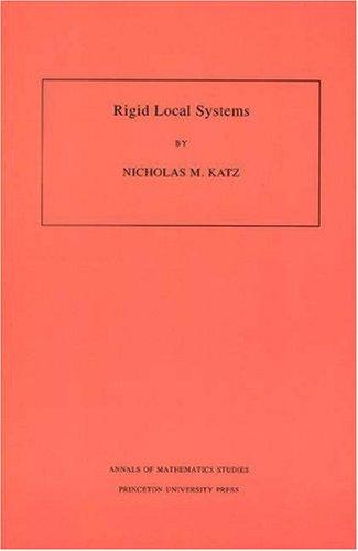 Rigid Local Systems. (AM-139): Katz, Nicholas M.