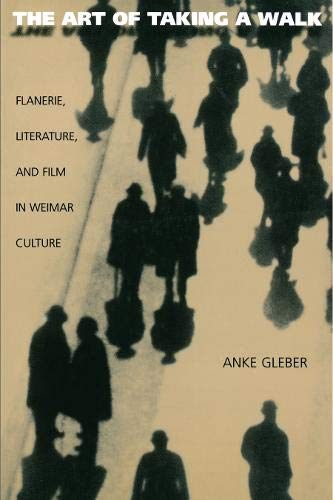 9780691012223: The Art of Taking a Walk: Flanerie, Literature, and Film in Weimar Culture: Flanerie, Literature and Film in Weimar Germany