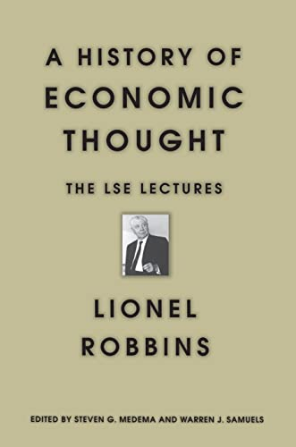 9780691012445: A History of Economic Thought