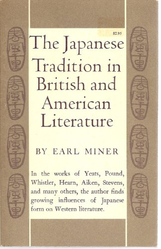 9780691012636: Japanese Tradition in British and American Literature