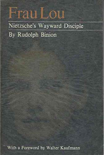 9780691013121: Frau Lou: Nietzsche's Wayward Disciple