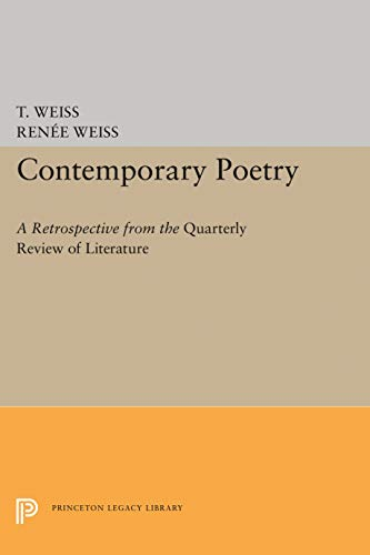 9780691013244: Contemporary Poetry: A Retrospective from the