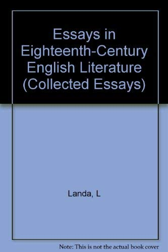 periodical essays 18th century england Home table of content united architects – essays table of content all  and influential 18th-century periodical essays would be  in england before .