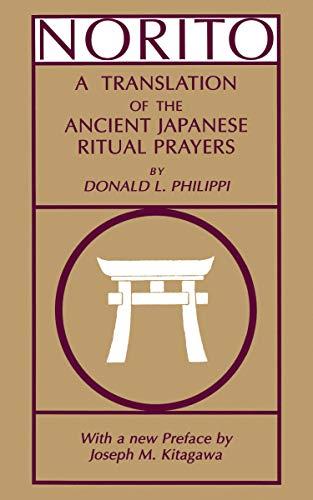 9780691014890: Norito: A Translation of the Ancient Japanese Ritual Prayers