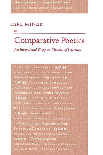 9780691014906: Comparative Poetics