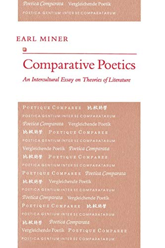 9780691014906: Comparative Poetics