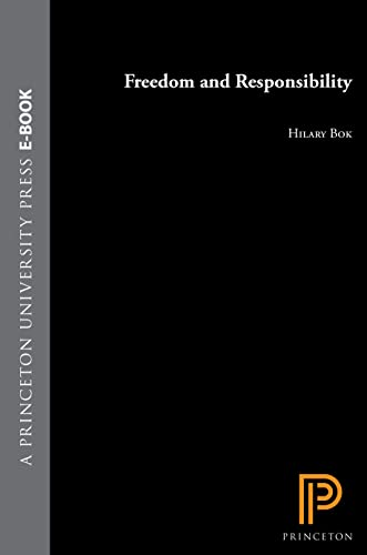 9780691015668: Freedom and Responsibility