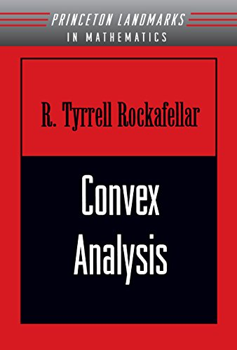 9780691015866: Convex Analysis (Princeton Landmarks in Mathematics and Physics)