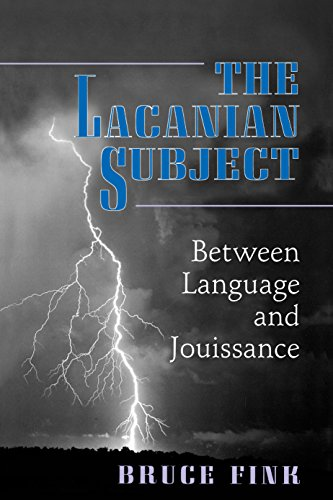9780691015897: The Lacanian Subject - Between Language and Jouissance