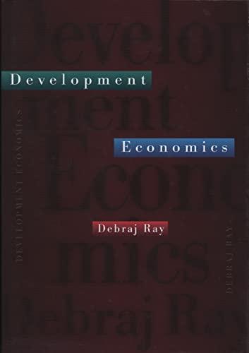 9780691017068: Development Economics