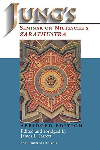 Jung's Seminar on Nietzsche's Zarathustra: Carl Gustav Jung