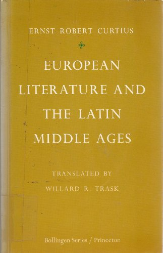 9780691017938: European Literature and the Latin Middle Ages