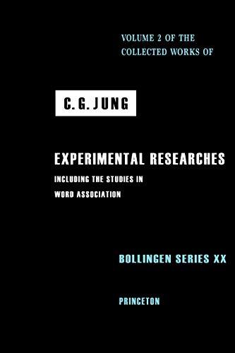 Jung:Experimental Researches (Paper) (Princeton/Bollingen paperbacks): C.G. Jung
