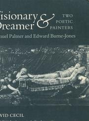 9780691018584: Visionary and Dreamer: Two Poetic Painters: Samuel Palmer and Edward Burne-Jones (The A. W. Mellon Lectures in the Fine Arts)