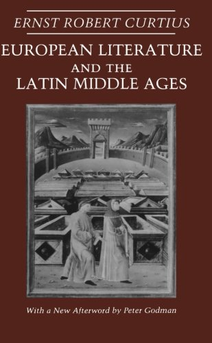9780691018997: European Literature and the Latin Middle Ages (Bollingen Series XXXVI)