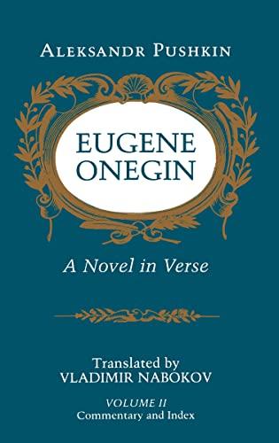 9780691019048: Eugene Onegin: A Novel in Verse, Vol. 2