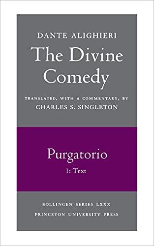 The Divine Comedy, II. Purgatorio, Vol. II.: Dante Alighieri/ Singleton,